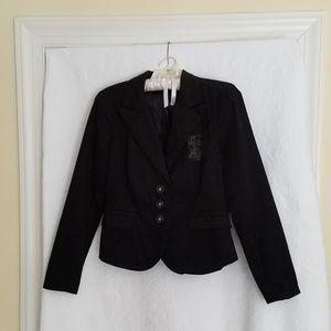Calvin Klein Jeans Jacket Black Cotton L